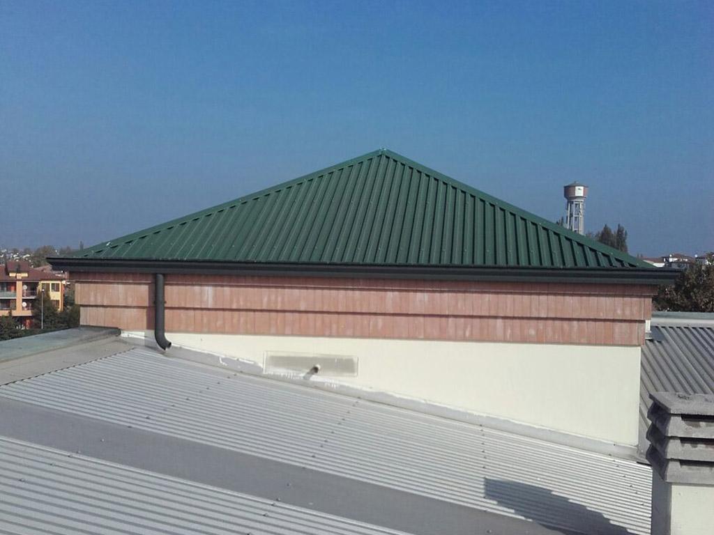 costruzione coperture industriali e per capannoni   albano coperture
