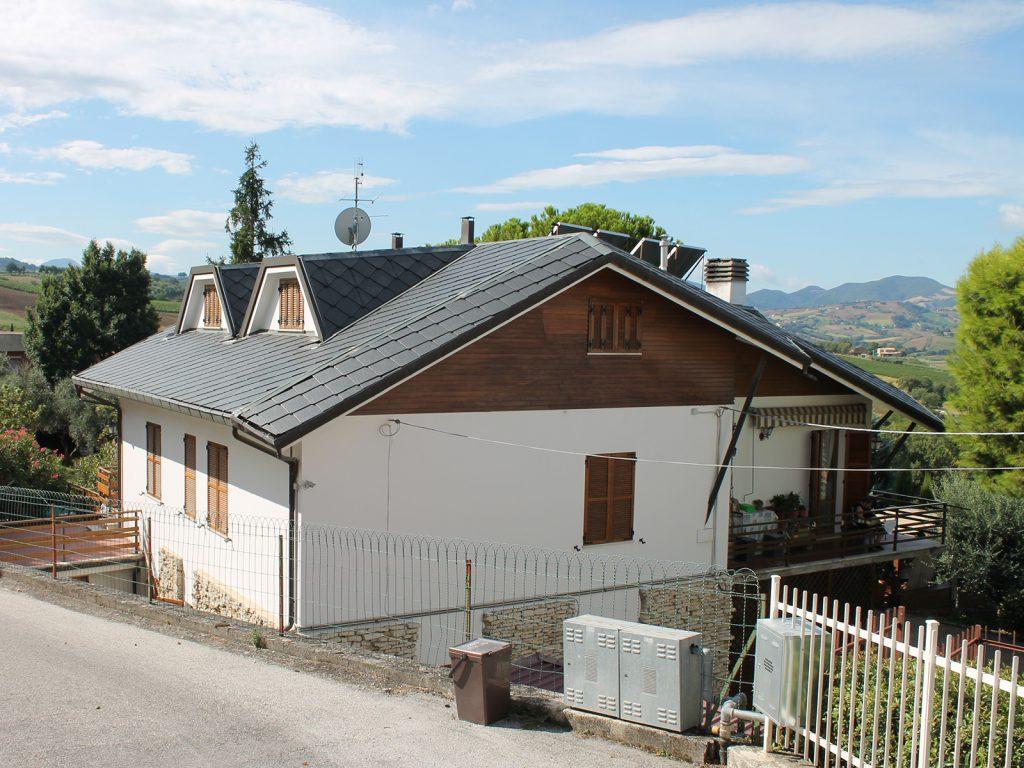 Ristrutturazione edile a Serra dei Conti (AN)